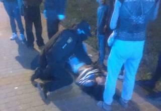 В Львове цыгане устроили кровавую разборку на ножах