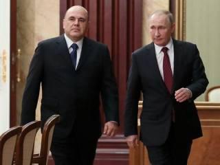 Российский премьер Мишустин признался Путину, что подхватил коронавирус