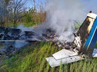 На Днепропетровщине разбился самолет ‒ есть жертвы