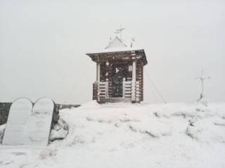 В Украине пошел майский снег