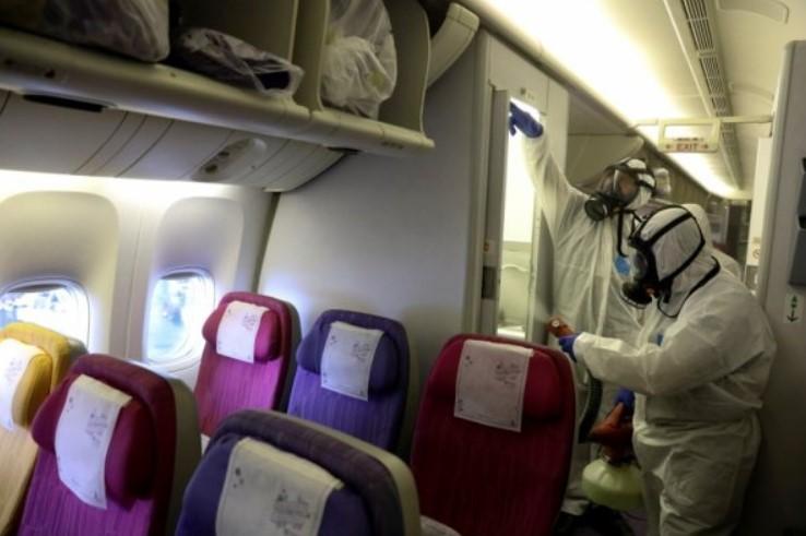Самолет после коронавируса 2020