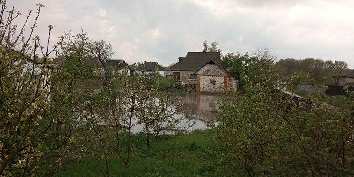 Последствия сильного ливня в Винницкой области