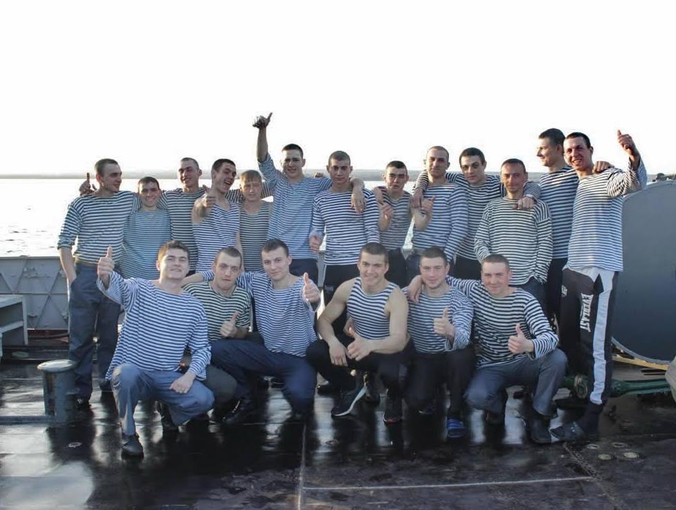 Экипаж тральщика во время событий аннексии Крыма весной 2014 года