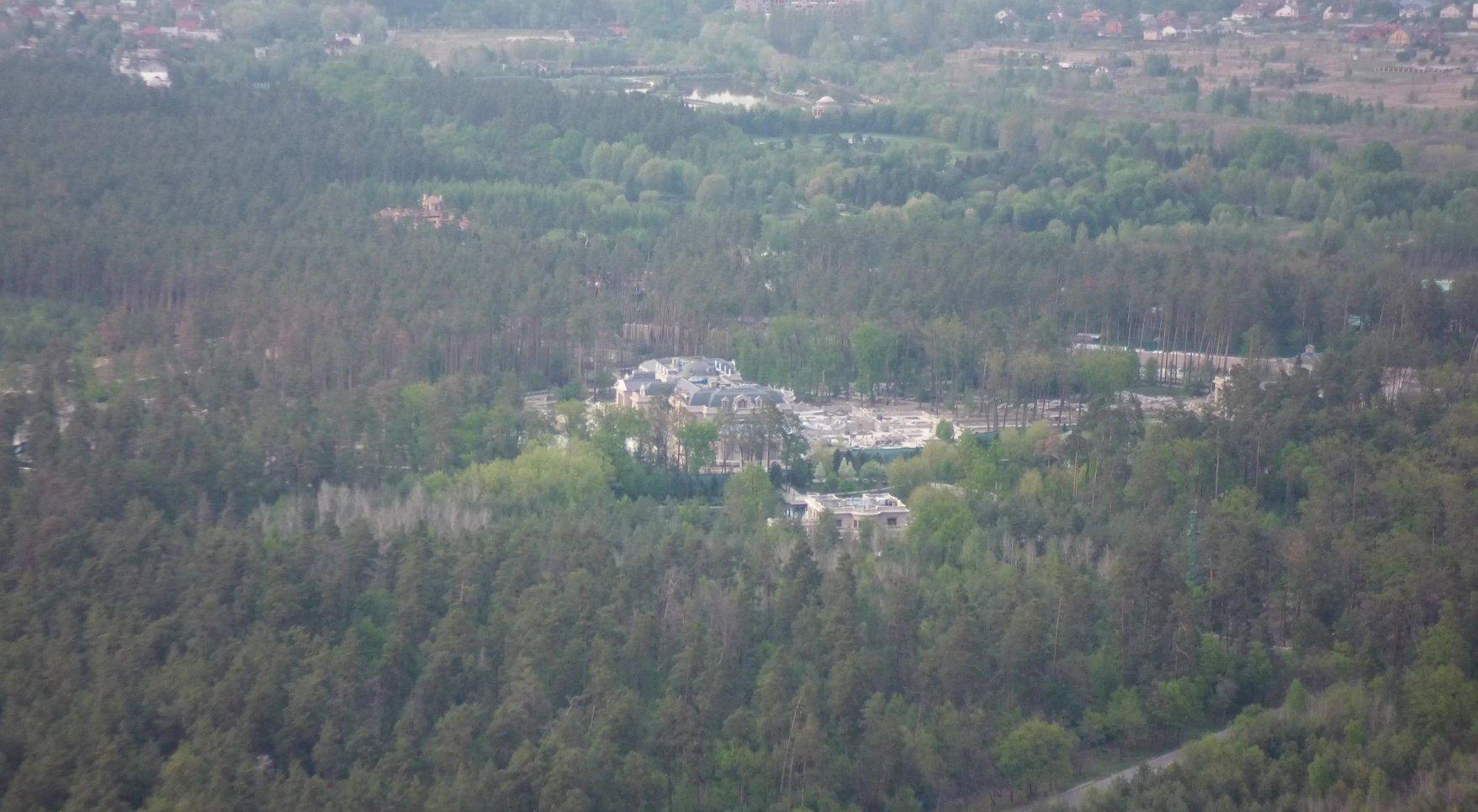 Резиденция Рината Ахметова под Киевом