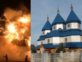 На Буковине суд оставил в СИЗО поджигателя храма УПЦ
