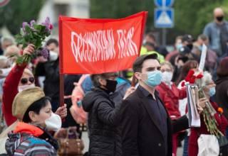 Как праздновали День Победы 9 мая в Украине