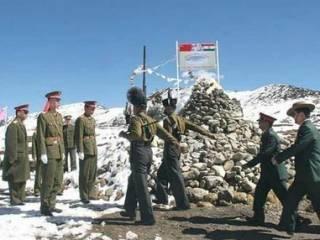 Пограничники устроили массовую драку на границе Индии и Китая