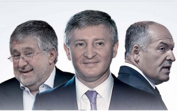Ахметов, Коломойский и Пинчук