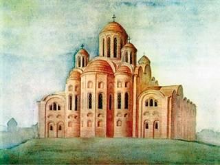 В Киеве в этот день более тысячи лет назад была освящена Десятинная церковь