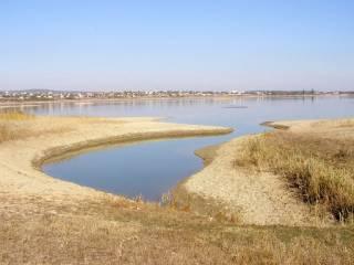 В аннексированном Крыму стремительно пересыхает Белогорское водохранилище