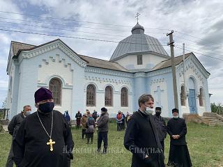 На Кировоградщине верующие УПЦ отстояли свой храм