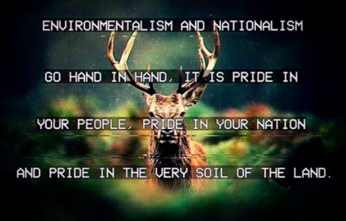 Энвайронментализм и национализм идут рука об руку