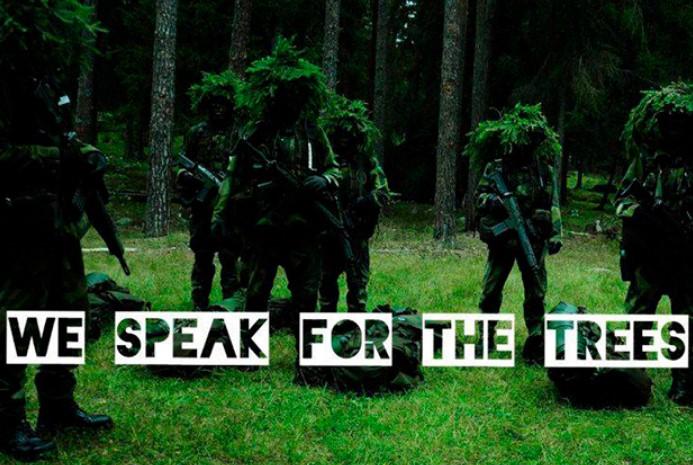 Экофашисты. Мы говорим от имени деревьев