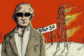 В России назревает скандал с вышками 5G и фейковым коронавирусом
