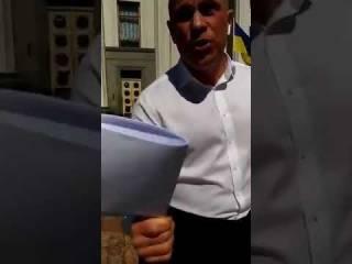 Кива обматерил активиста за «неудобный» вопрос