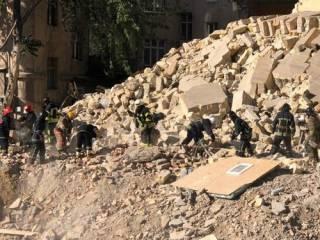 В Одессе частично обрушился многоэтажный жилой дом