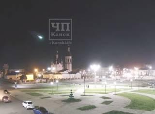В небе над Сибирью засняли очередной гигантский метеорит