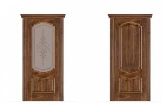 Якими бувають міжкімнатні шпоновані двері і в чому полягають їх переваги