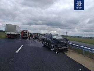 Кровавое ДТП на Одесской трассе: столкнулись три авто, погибли четыре человека