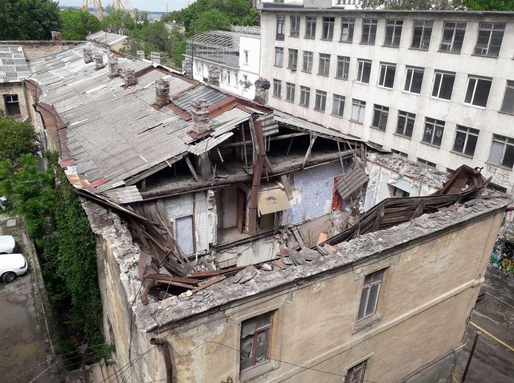 Одесса рушатся дома 2020