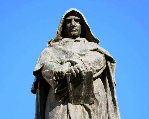 масонский памятник Джордано Бруно