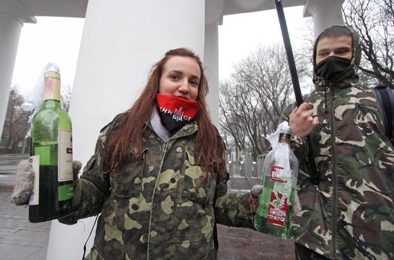 Тризуб УГКЦ Майдан