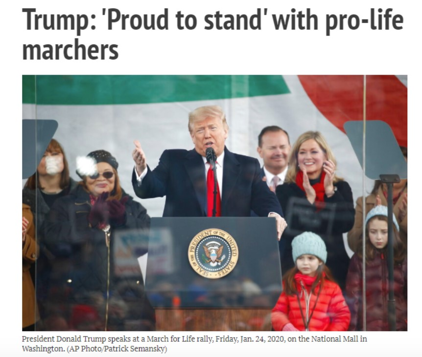 Дональд Трамп Prolife