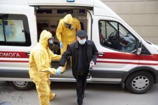В общежитии под Киевом зафиксирована вспышка коронавируса