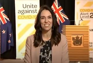 Новозеландский премьер «попала в землетрясение» в прямом эфире