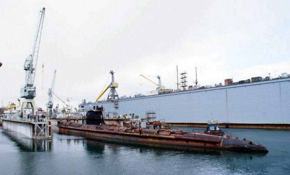 подводная лодка Запорожье