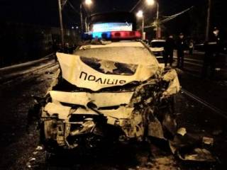 В Харькове полицейские угодили в огненное ДТП, ‒ есть жертвы