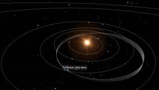 Уже в субботу к Земле подлетит гигантский астероид