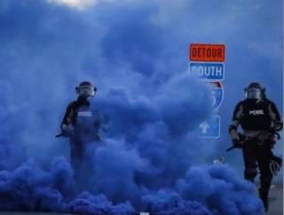 Боевики Байдена поджигают Америку
