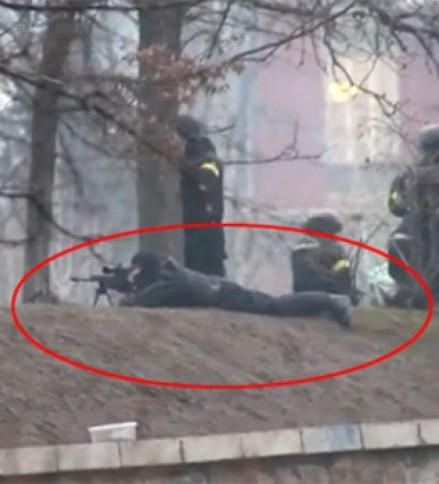 снайперы Украина 2014