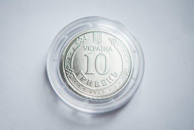 Аверс монеты номиналом в 10 грн