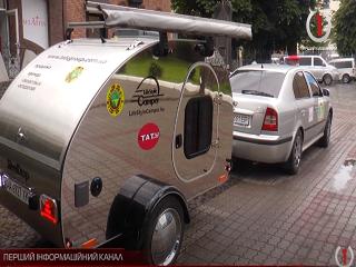 В Мукачево стартовал кругосветный автопробег для сбора средств больным детям
