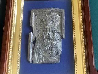 В белорусском лесу обрели старинную икону Богородицы