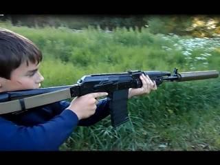 Странный мужчина устроил стрельбу из ружья прямо посреди Дрогобыча