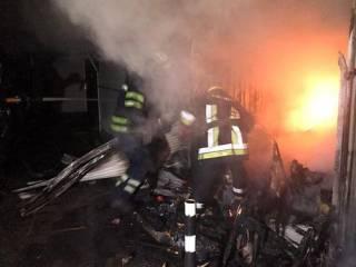 В родном городе Зеленского бушевал масштабный пожар