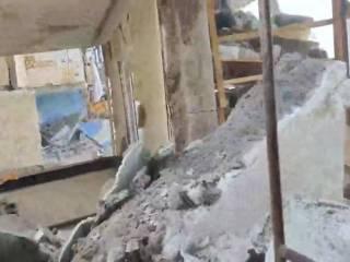 Взрыв в Киеве: обнародованы жуткие кадры, снятые жильцом соседнего дома