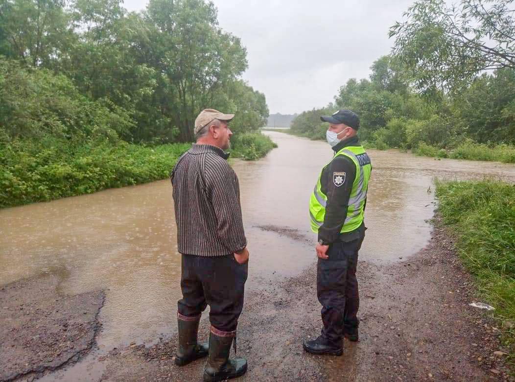 вышедшая из берегов река Туринка затопила село Заречное
