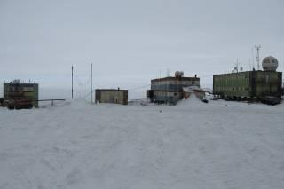 На российской антарктической станции произошел масштабный пожар