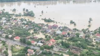 На Прикарпатье затопило больницу с больными коронавирусом