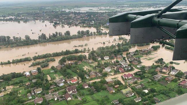 паводок на Ивано-Франковщине