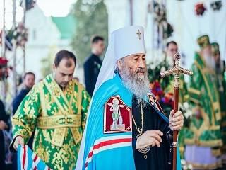 Предстоятель УПЦ Митрополит Онуфрий празднует именины и 50 лет монашеского служения