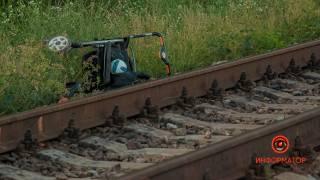 В Днепре поезд сбил коляску с полуторагодовалым ребенком