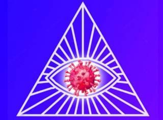 Более 7% украинцев считают, что к происхождению коронавируса приложили руку масоны, спецслужбы, Билл Гейтс или мировое правительство