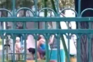Появилось видео, как в Каменском воспитательница «подвесила» ребенка вниз головой