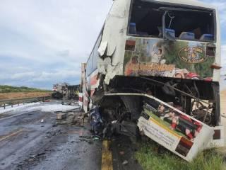 В Польше автобус с украинцами попал в огненное ДТП ‒ пострадали десятки людей
