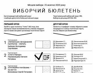 «Как в стране первого мира»: стало известно, как будет выглядеть бюллетень для голосования на местных выборах